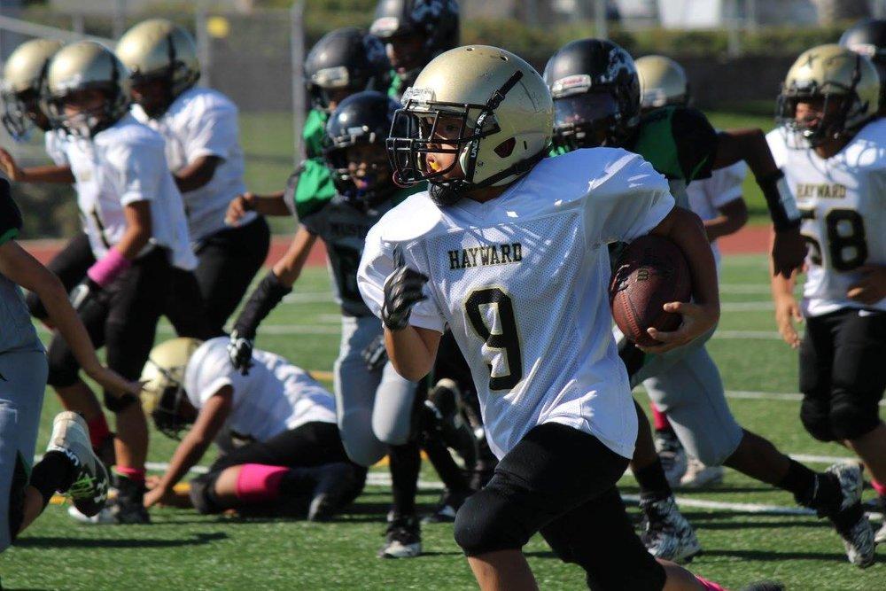 Hayward Aggies Youth Football<br>and Cheer