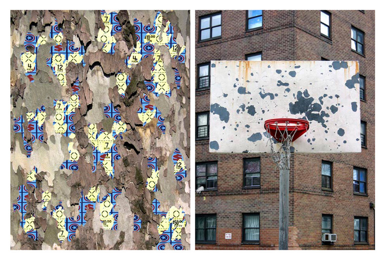 Scratching Chance #1 (Diptych)