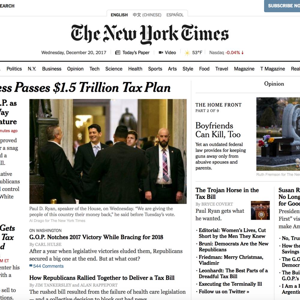 NY Times -