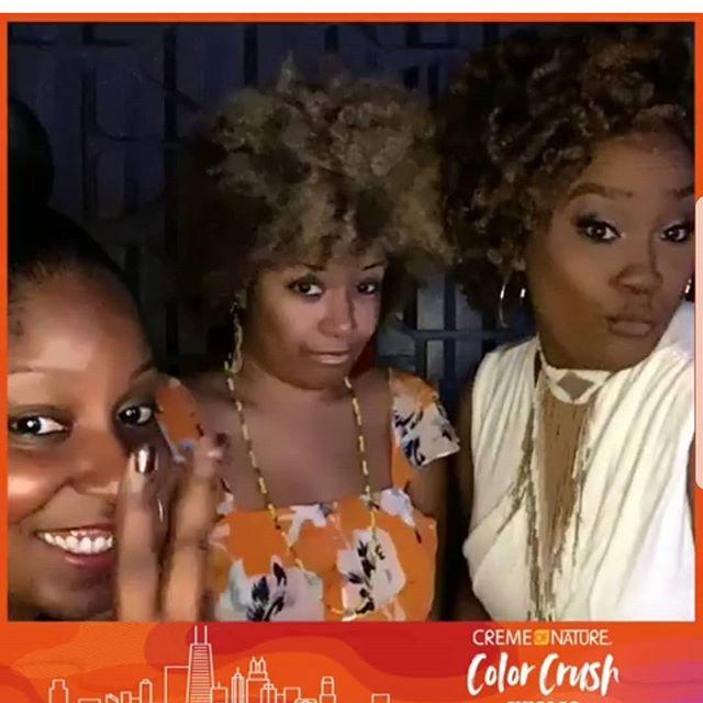 Fam Glam @ehubbs37 @teneyalove @cremeofnature #culturecrush #teamnatural
