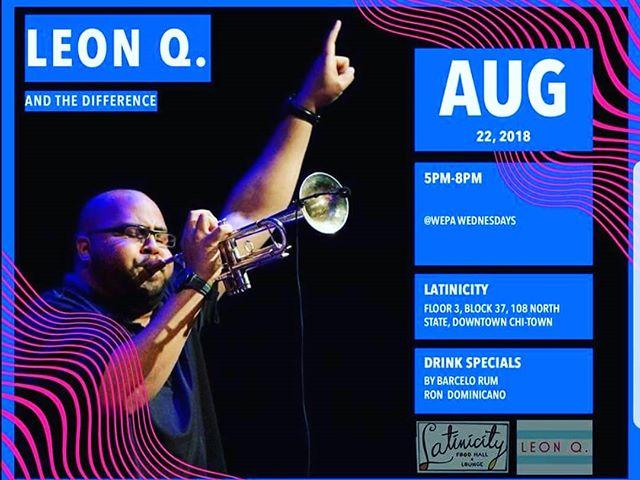 Tonight cuzzo @leonqallen Live Salsa @latinicity in Chicago #salsa #cubanos