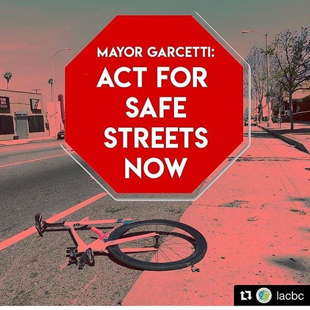 @mayorofla let's put #visionzero no more grim street deaths as a priority before your presidential campaign- yup I'm always asking for more than what the status quo can handle. #thatsjustme - this is a repost from so many awesome advocates rockstars #bikethevote