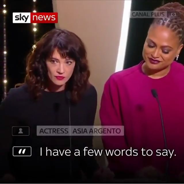 We know who you are even though your crime against womxn has not been proven . Thank you @asiaargento for speaking your truth and @ava for also keeping up the fight @chakabars for posting and educating us everyday