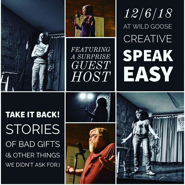 Speak Easy is this Thursday. We might have a special guest host. If you're nice. #speakeasycbus #expcols #artmakescbus #ohioexplored
