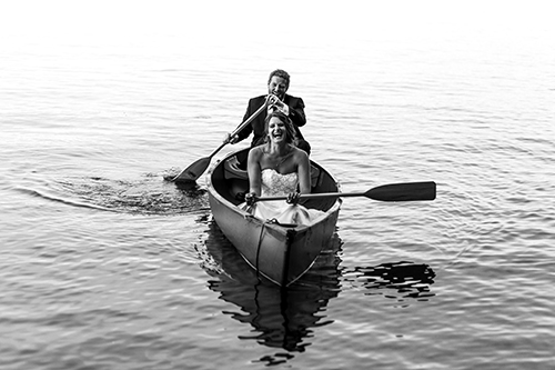 - Jenny was the perfect photographer for us. Our intimate cabin wedding was forever captured beautifully because she found those candid moments between us and our guests. We especially love the shot of us in mid laugh as we canoe on West Hawk Lake. We truly appreciate how warm and laid back Jenny was. She made us feel comfortable and at ease. We can't stop looking at our wedding photos!-Jenna + Dave