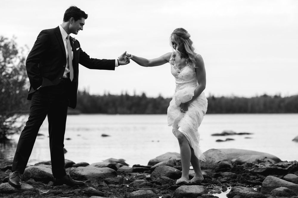 - Our wedding pictures reflected who we are as a couple. Don't be surprised if Jenny is suddenly inspired to get you to take pictures in places you didn't imagine…wait 'til you see what she captures. She is a joy to work with!– Danielle + Paul Grenier, Hecla Resort MB
