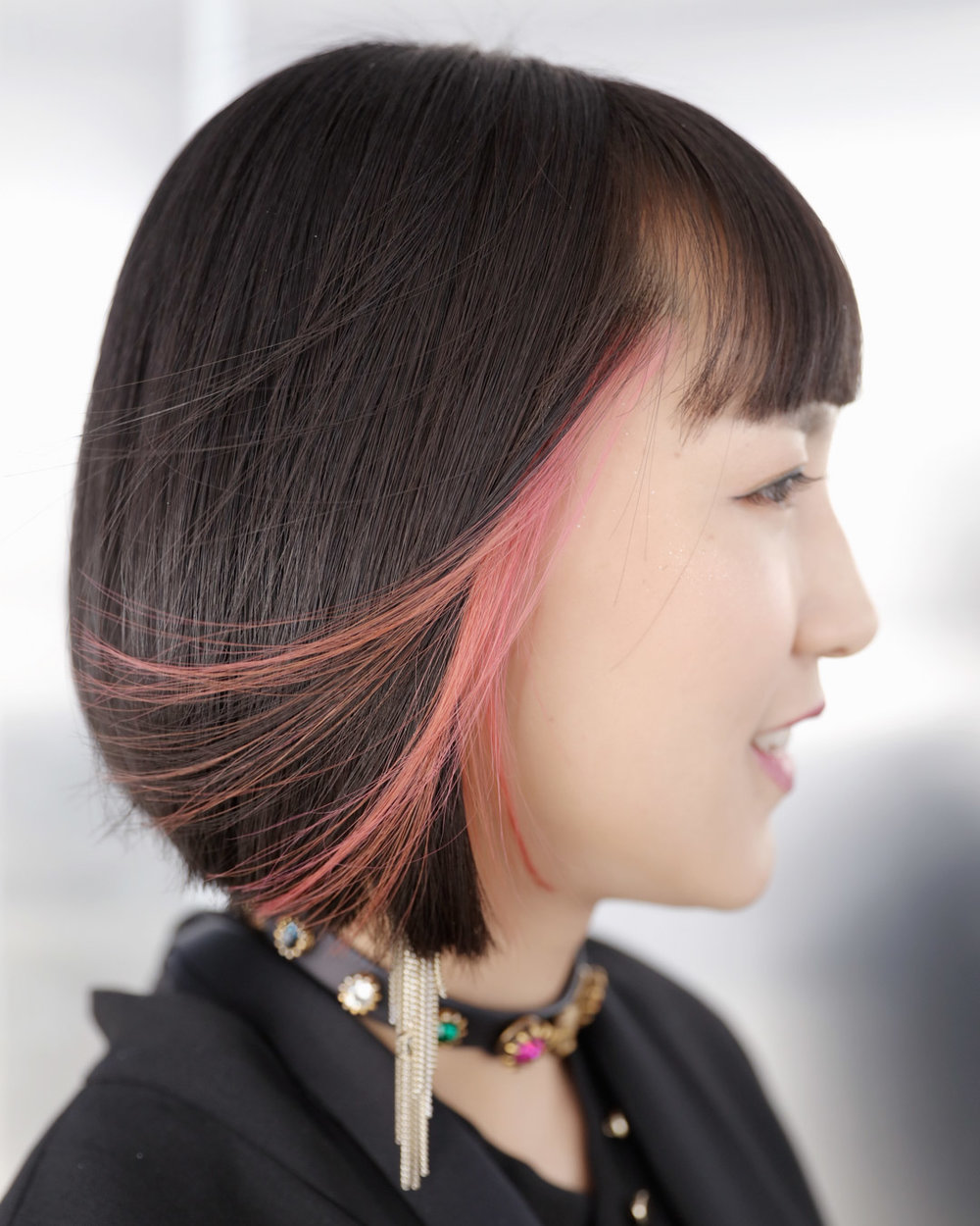 bob & inner pink - MENUCreative Colour, CutPRICEapprox. $270(Creative colour including bleach and colour $180, Cut from $90)TIMEapprox. 2.5 hours