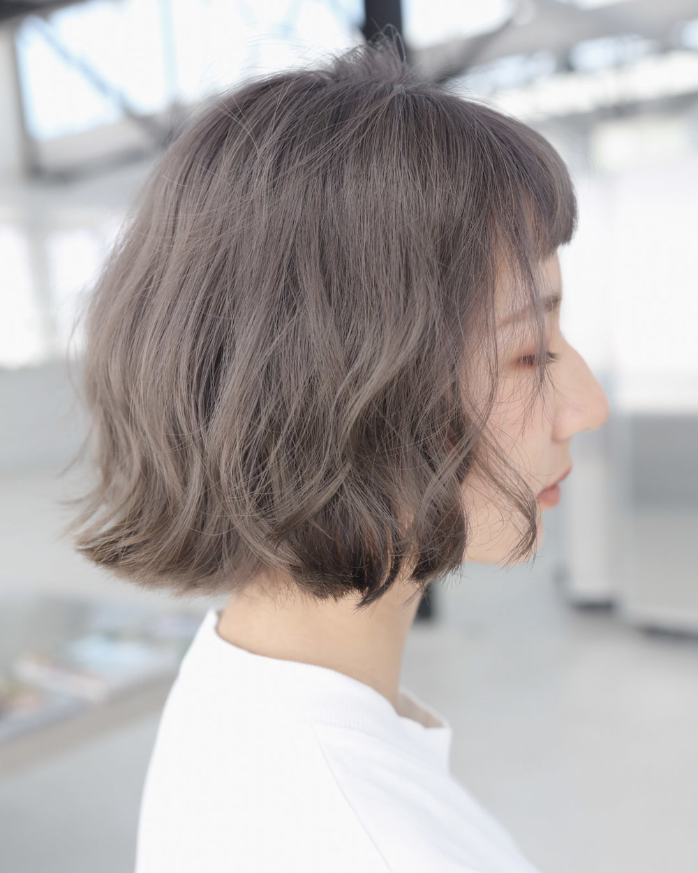SILVER BEIGE - MENUWhole-head bleach, Second bleach, Colour, Cut and stylePRICEapprox. $520(Whole-head bleach medium $220, Second bleach $80, Colour medium $130, Cut and style from $90)TIMEapprox. 4 hours