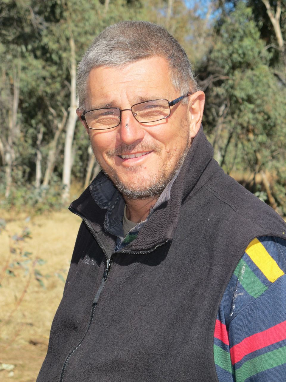Ian Robinson   I first went to the desert in 2002 looking for God-knows-what. I found it. Since then I have helped hundreds of people to make their own desert journey of discovery. Ian has written a doctorate and two books on the experience and was the first to cross all the seven major deserts in Australia in one journey.
