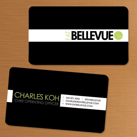 EATBELLEVUE  (2014) Business card designs