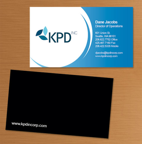 KPD  (2006) Business card designs