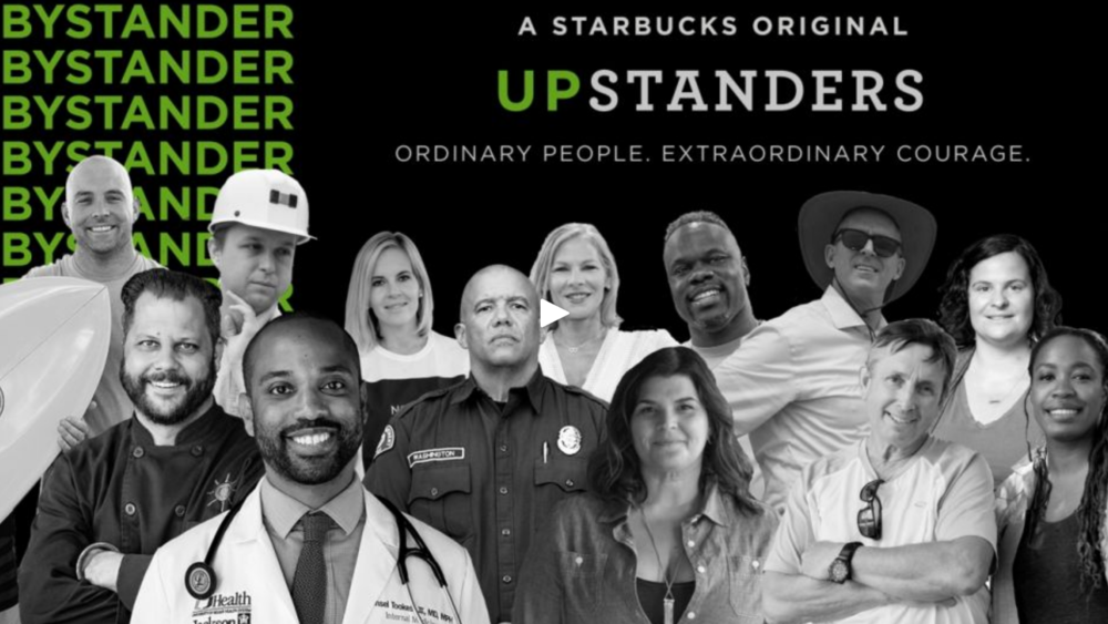 Starbucks: upstanders -