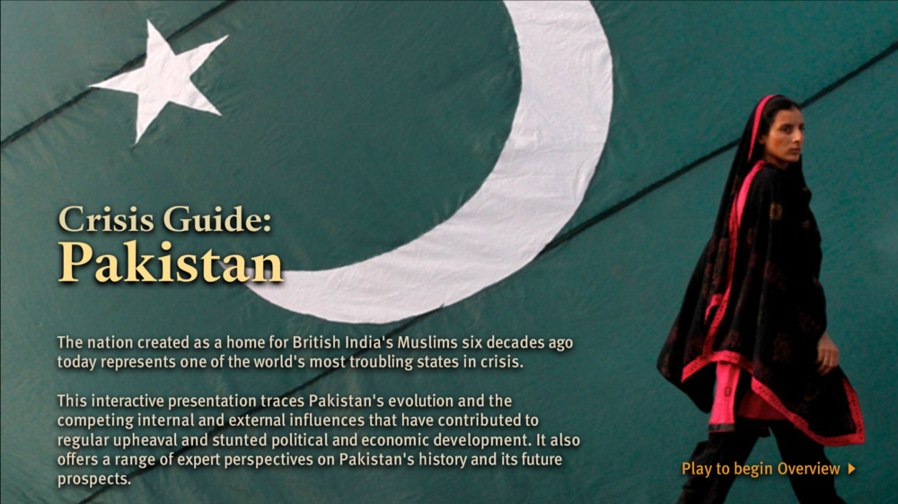 COUNCIL ON FOREIgn relations: crisis Guide Pakistan -