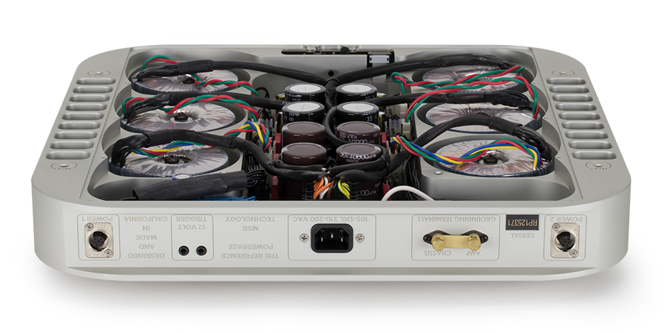 Inside of the MSB Reference Dac