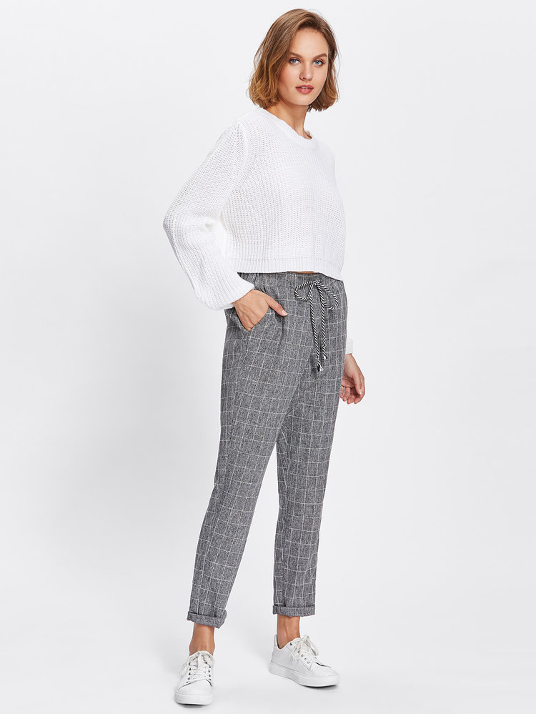 Well-known Plaid All Day Pants • Dresses • Accessories • Tops • Plus Size  HY06