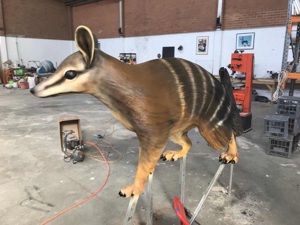 Project Numbat: Numbat Sculpture