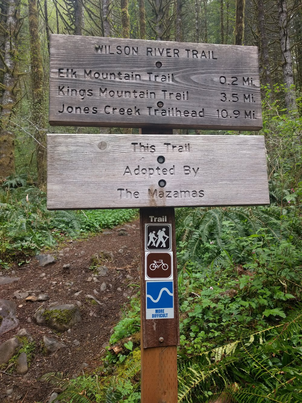 As you can see, no mention of the Elk Creek trail yet. (The Elk Mountain trail is a different trail!)