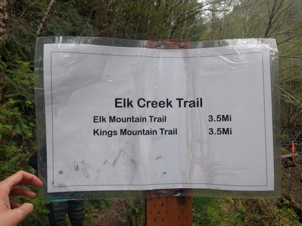 You made it! Now your Elk Creek Trail adventure begins!