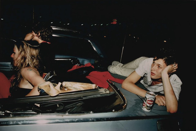 French Chris at the Drive-in, NJ, Photo by Nan Goldin, 1979