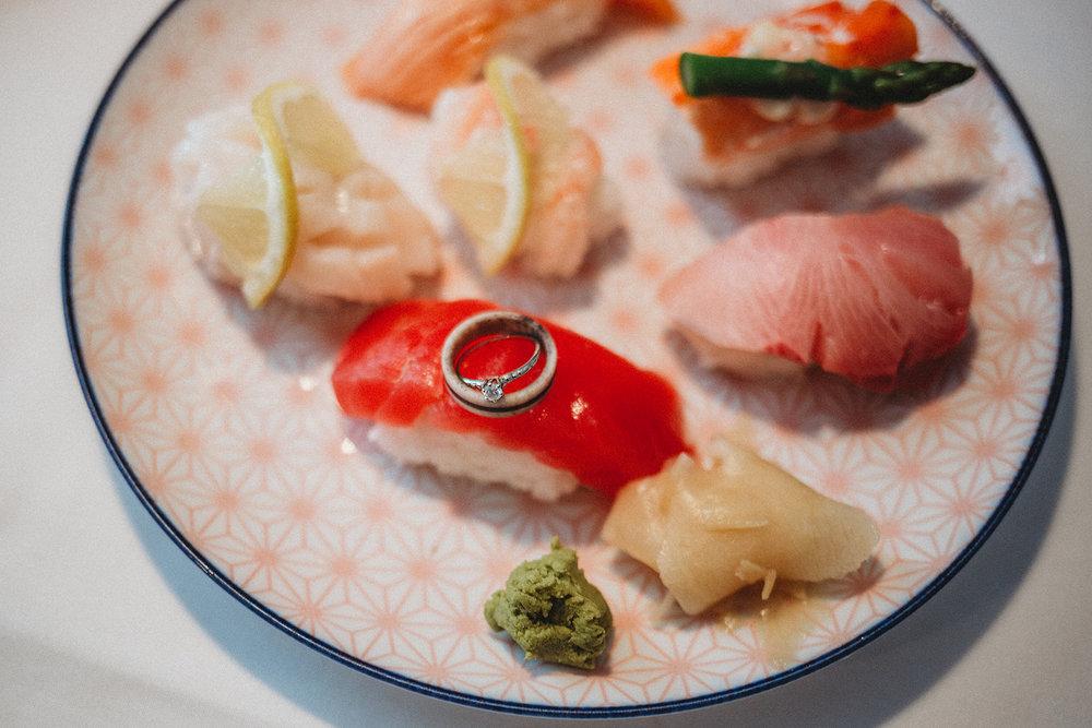 sushi-mount-vernon-engagement-megan-gallagher-photography