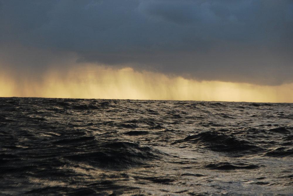 Quelque part au milieu de l'océan Atlantique - decembre 2012