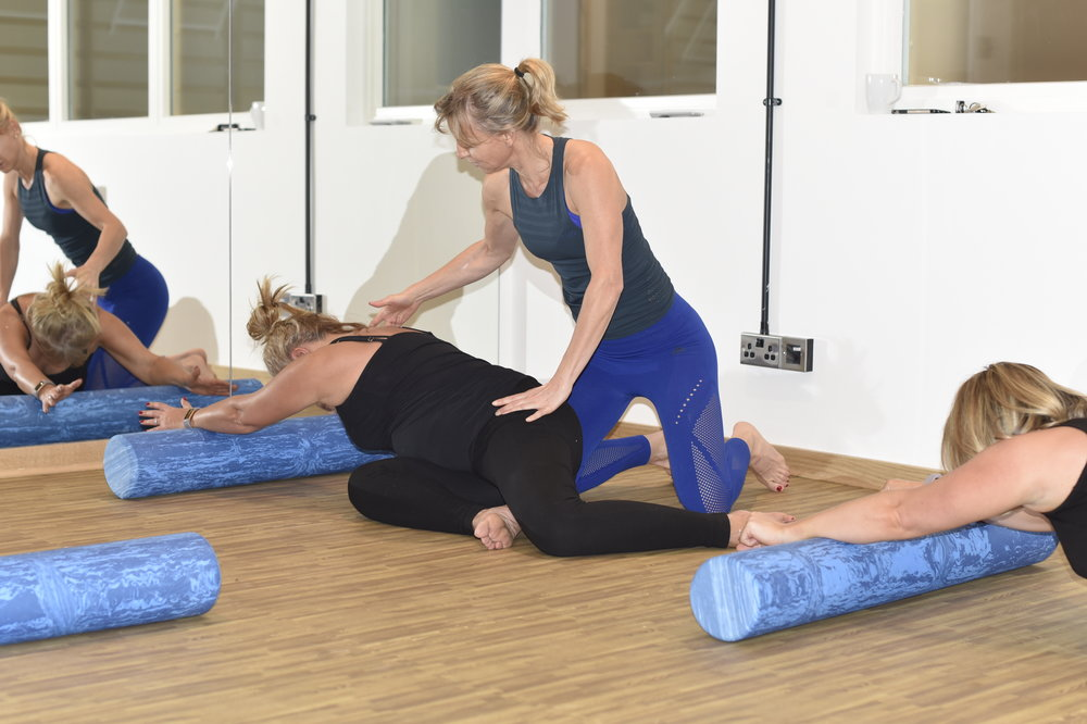 Pilates and movement classes with Suz