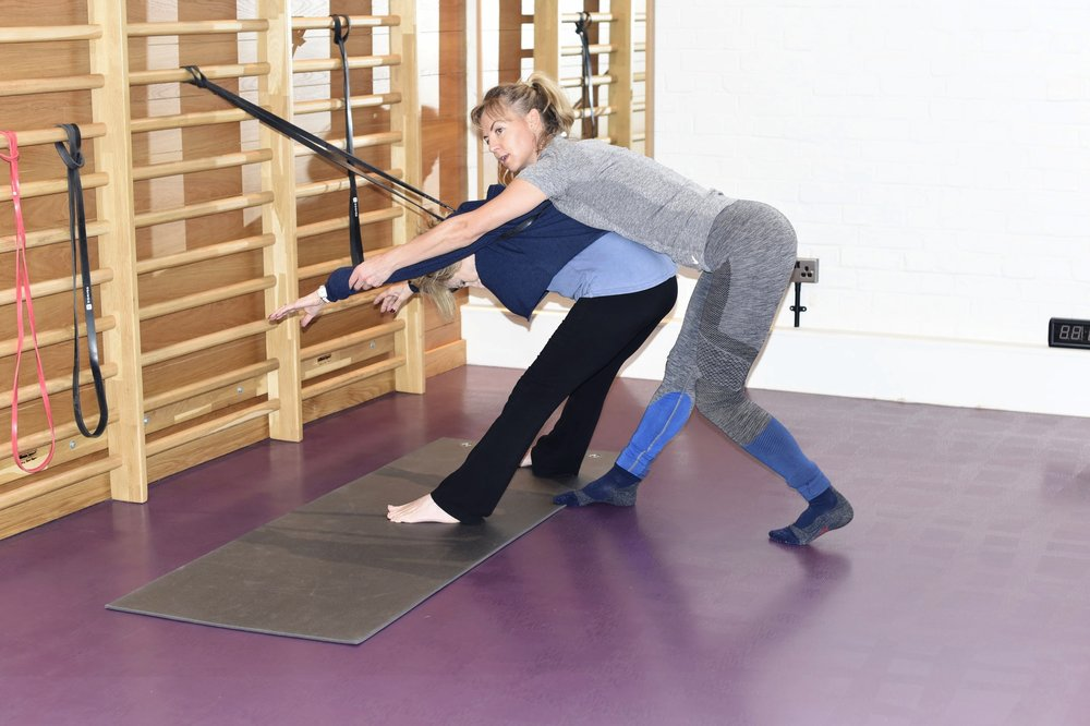 Private physiotherapy in one of our studios