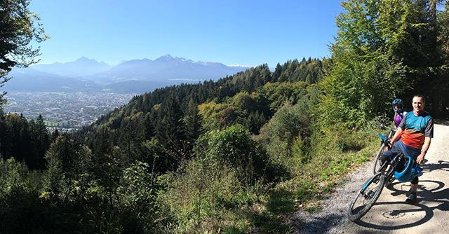 One of those #alpine days. Wind down after a busy #innsbrucktirol2018 World Champs #ridemore #mtb