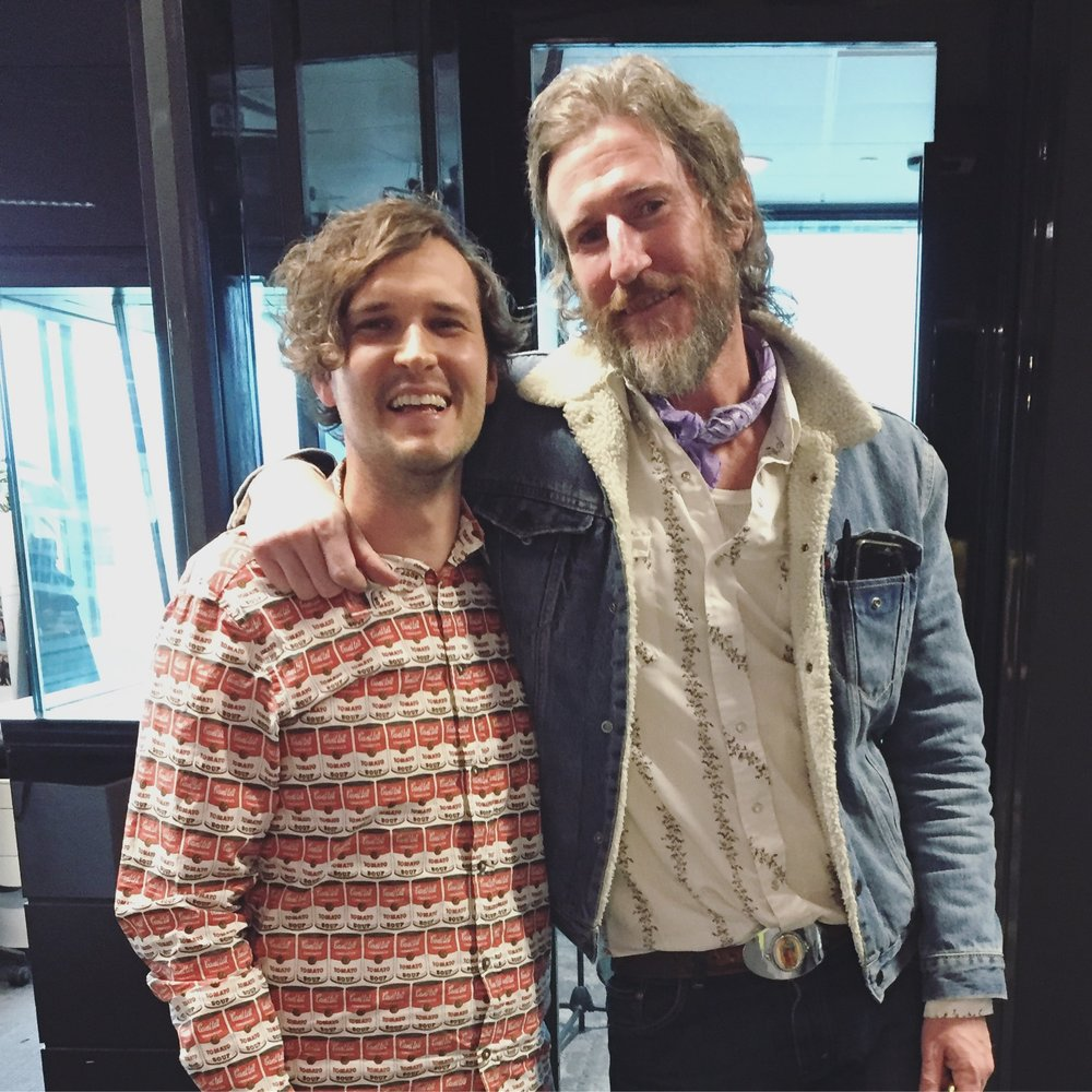 2017 Australian Podcast Award winner Aiden Grant, with Vinyl Soul guest Tim Rogers.