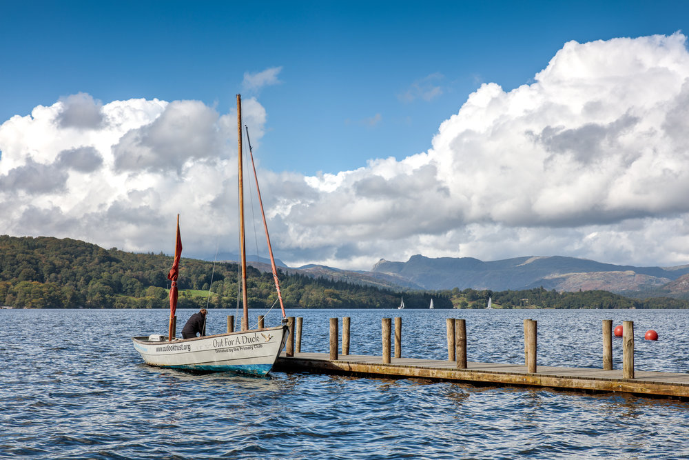 Out for a Duck, Lake Windermere   Canon EOS 5DS EF 24-70mm f2.8L, 61mm 1/125 sec at f/11, ISO 100
