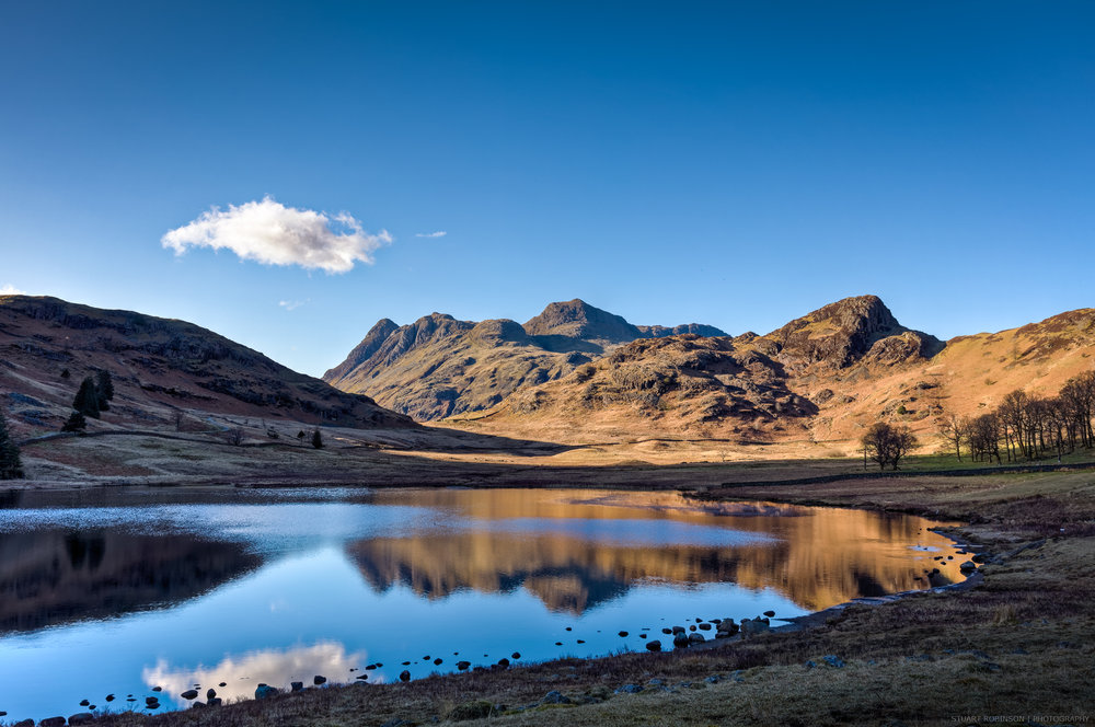 Setting Sun, Blea Tarn, Little Langdale  - Canon EOS 5DS, EF 24-70mm f2.8L, 28mm, 1/160 sec at f/10, ISO 100