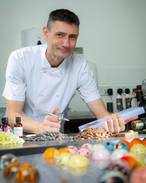 Matt Hancock, owner and chocolatier at Cocoaleur