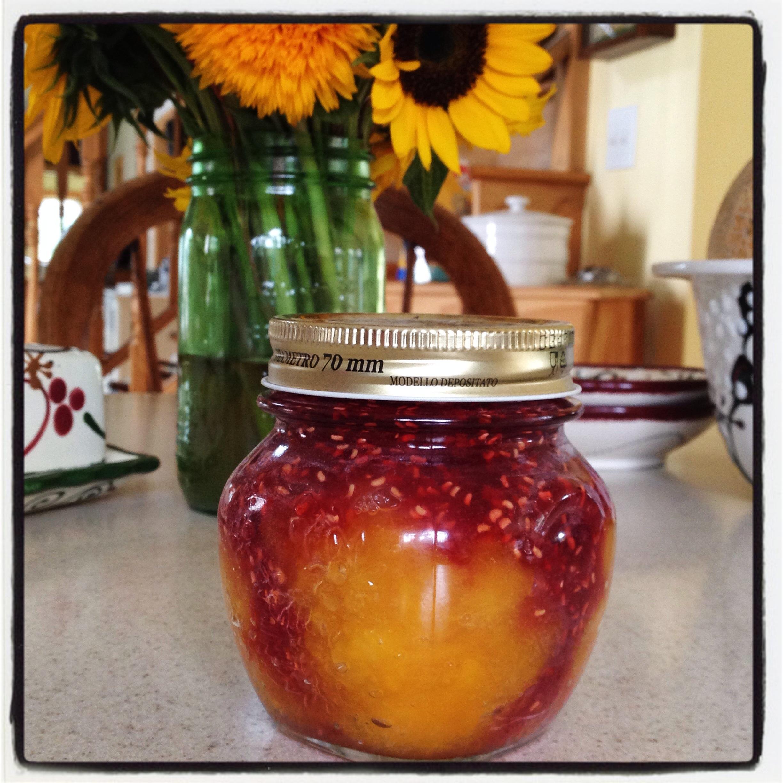Peach Melba Jam