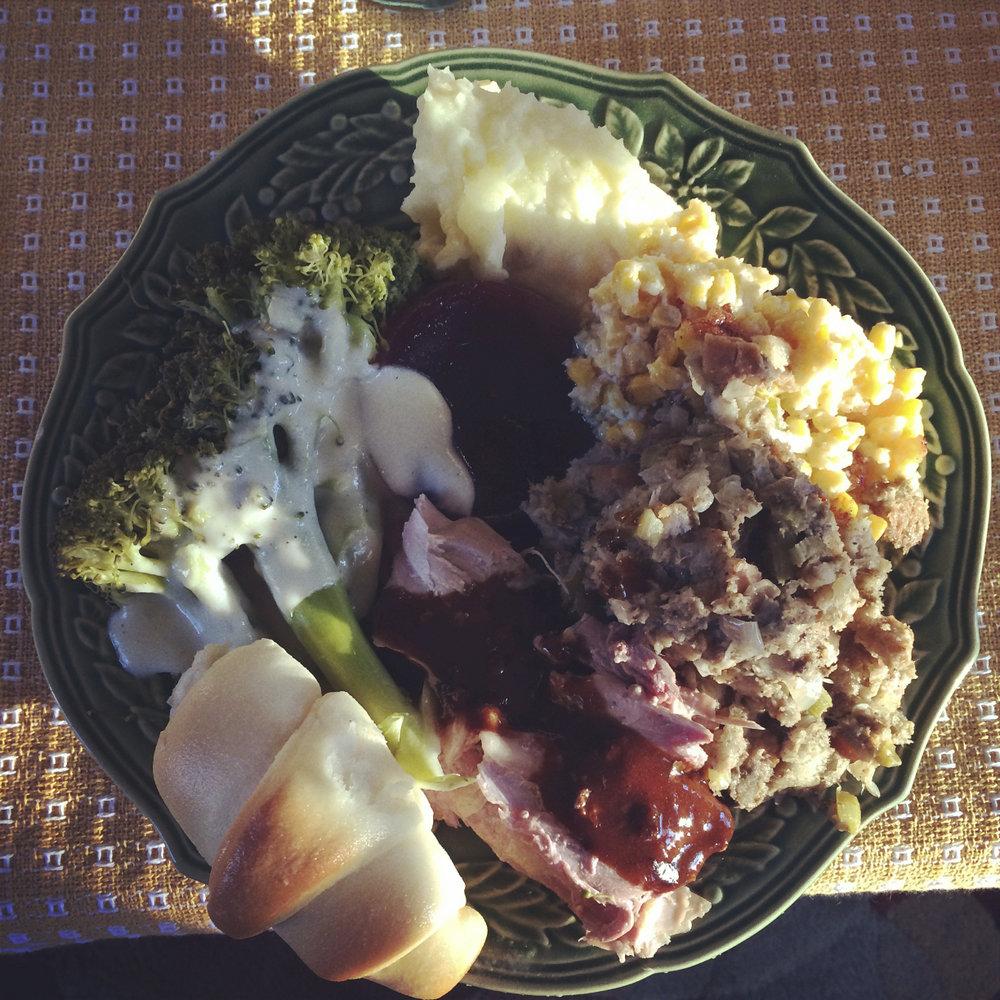 Meg's Plate!