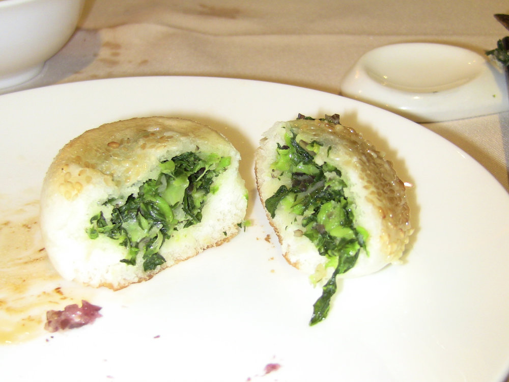 This is a savory veg steamed bun.