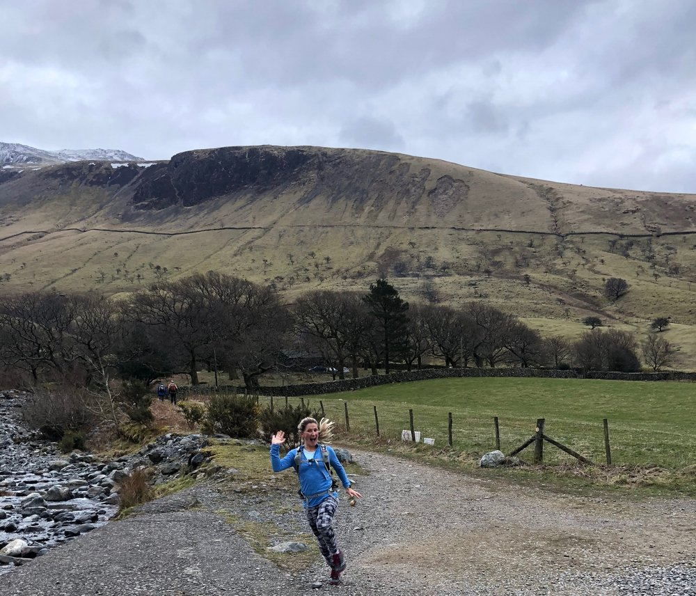 Running Scafell Pike