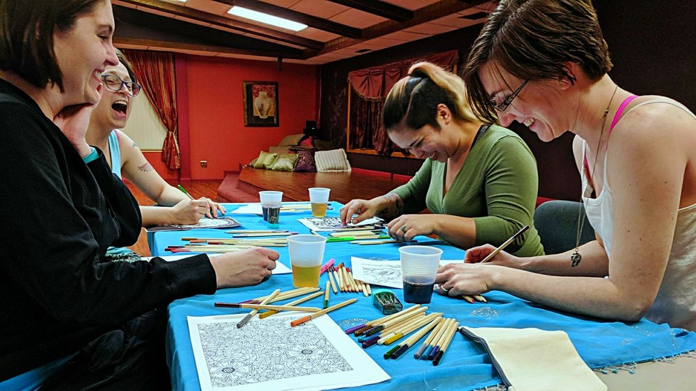 Ladies* Coloring Night - Feb 23rd from 7-9pm