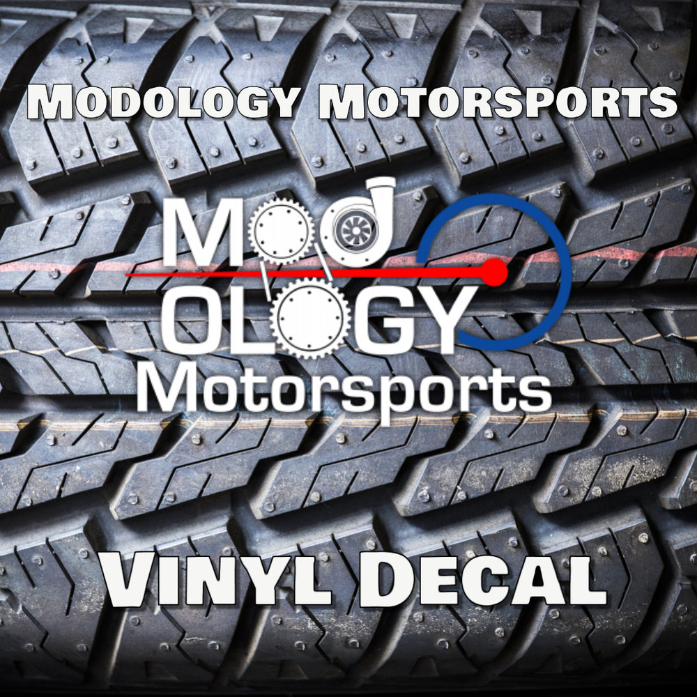 3rd Place Prize - A Modology Motorsports vinyl decal for your ride!