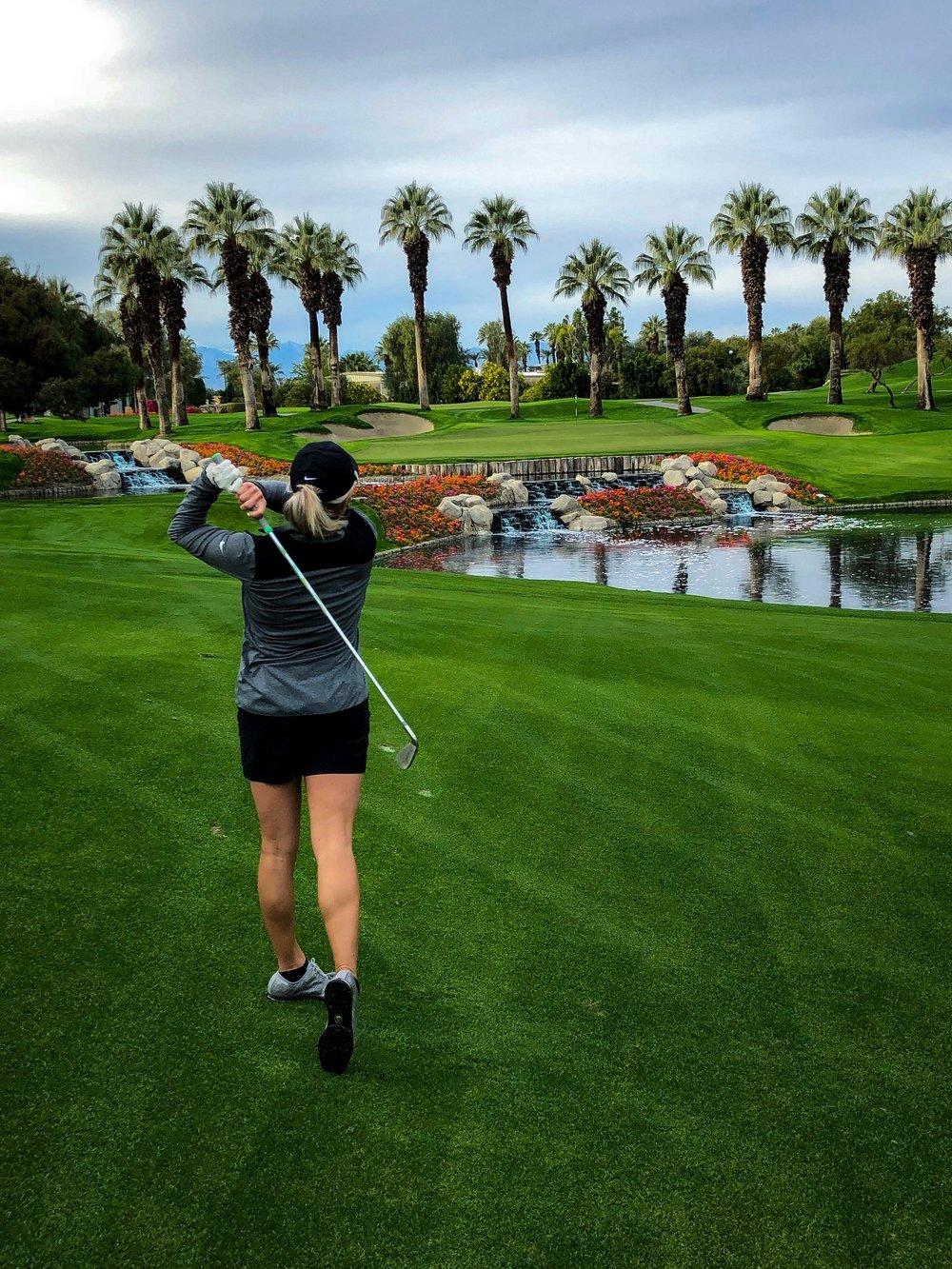 Desert Spings Golf Club Britt