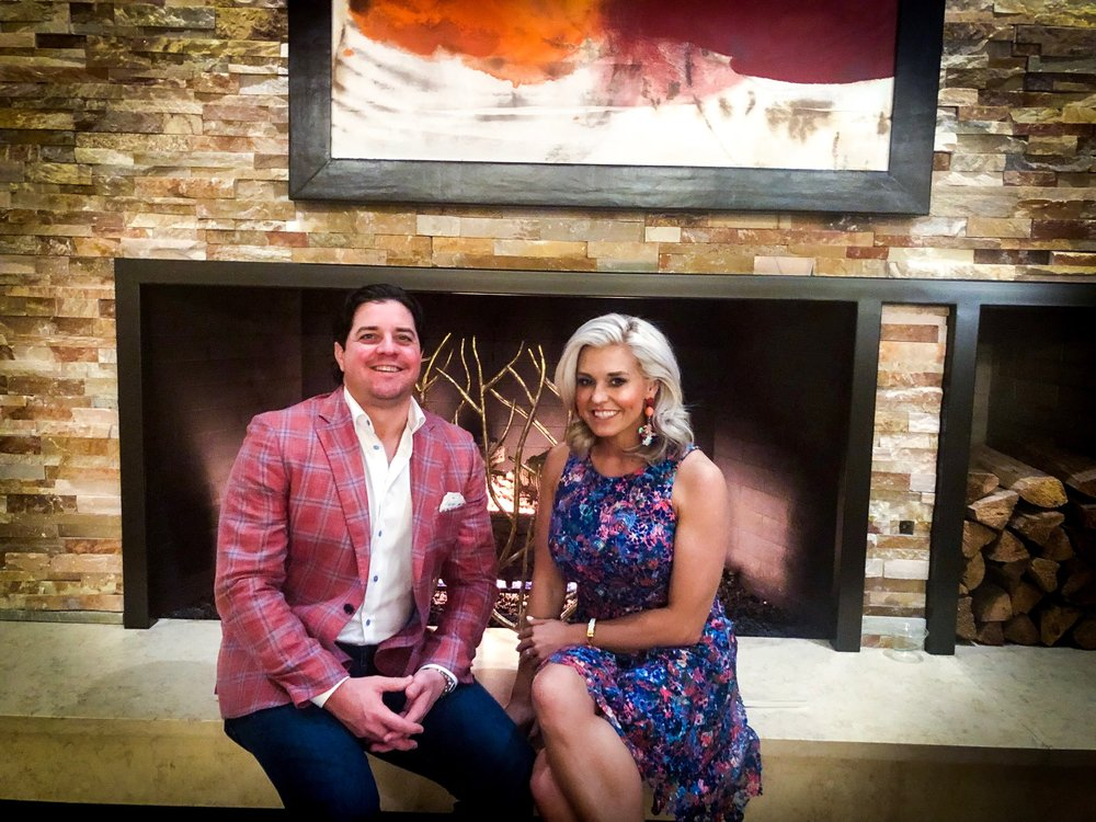 Britt and Tony Ritz Carlton Palm Springs