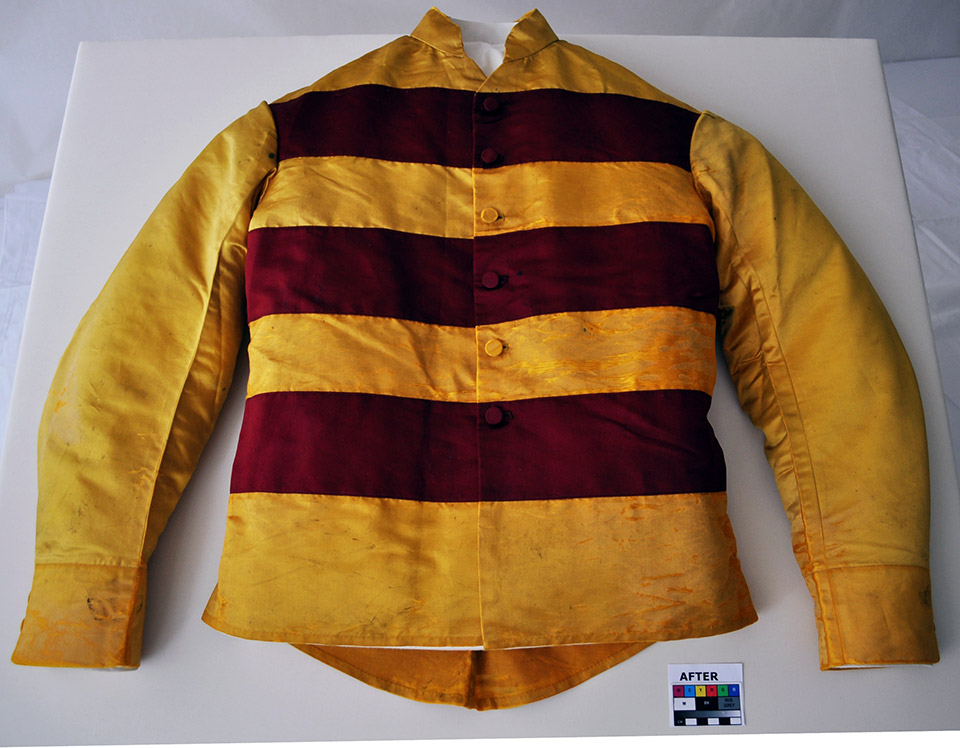 Jacket, after treatment