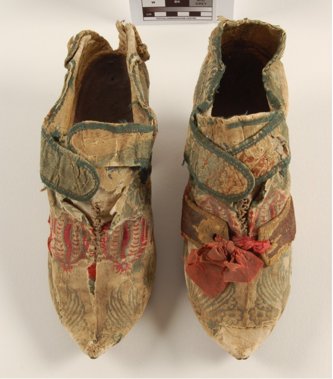 Shoes, before treatment