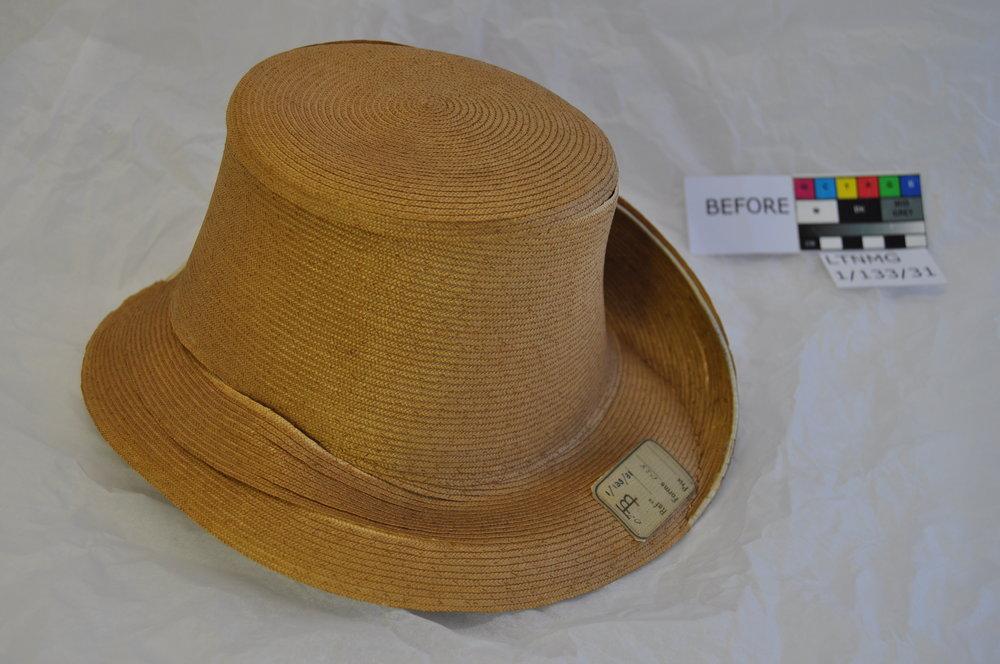Hat LTNMG 1/133/31, before conservation