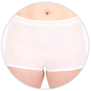 Maternity & Incontinence Underwear - The most dignified solution for new moms and seniors alike.