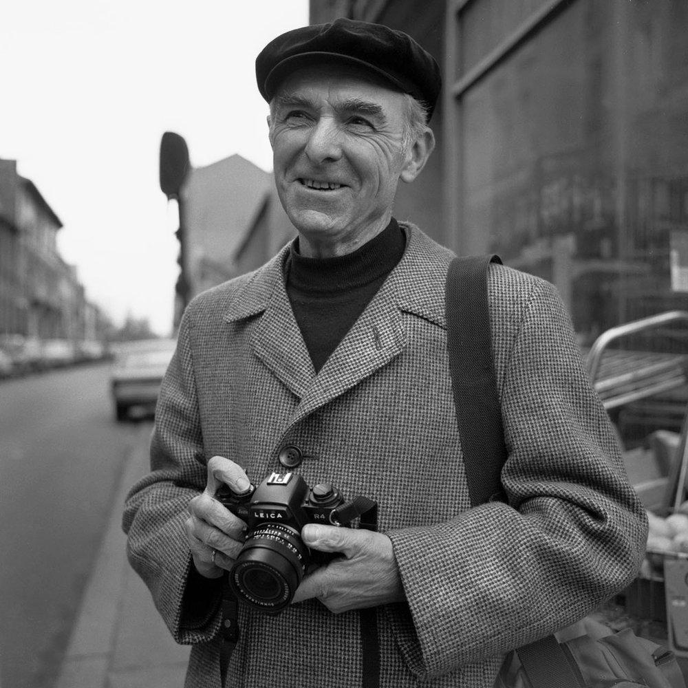 Robert Doisneau en 1983