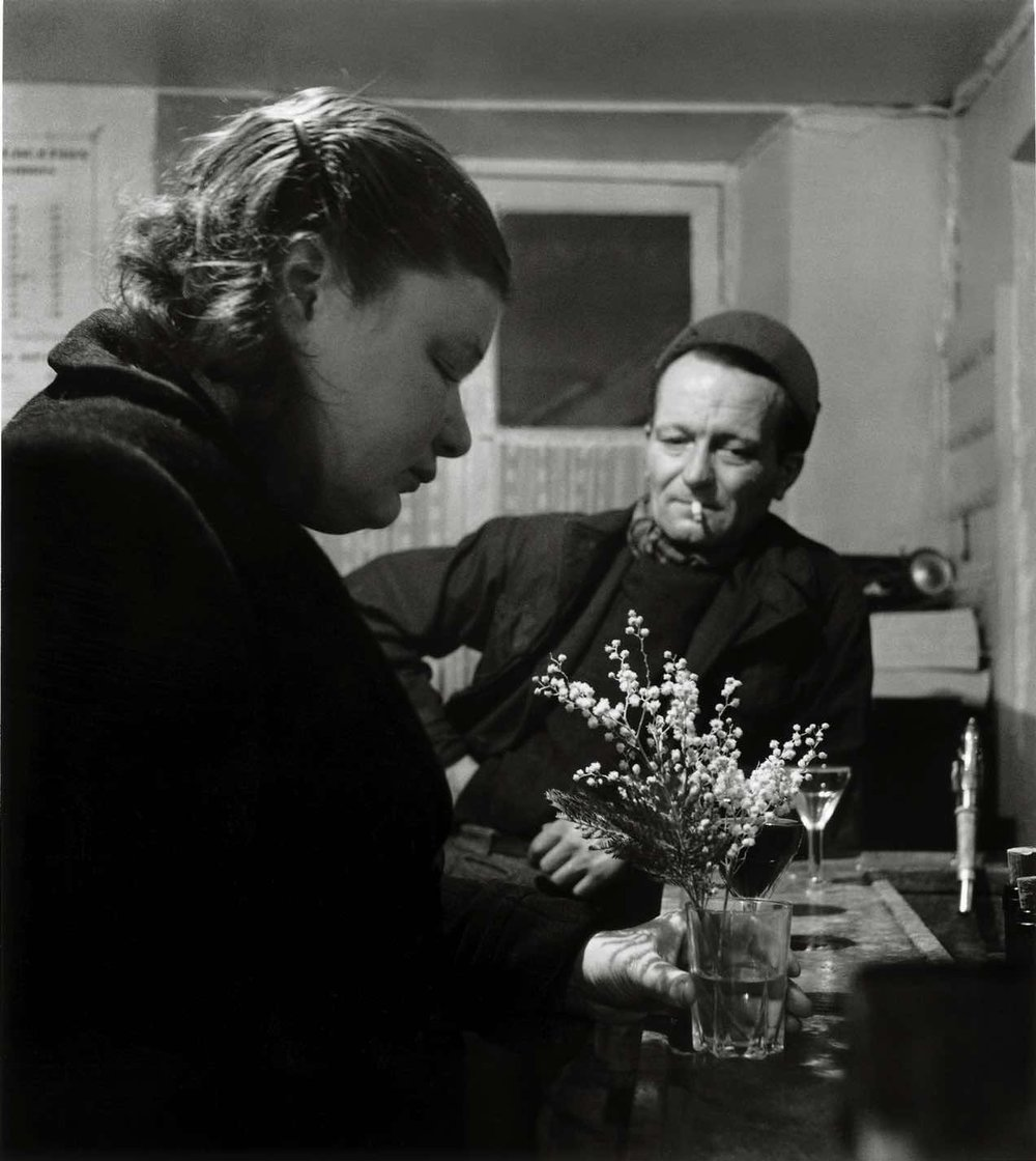 31392 Le mimosa du comptoir, rue Maître Albert, Vème arrondissement, 1952.jpg