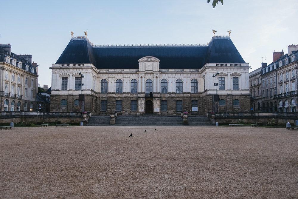 La place du Parlement de Bretagne