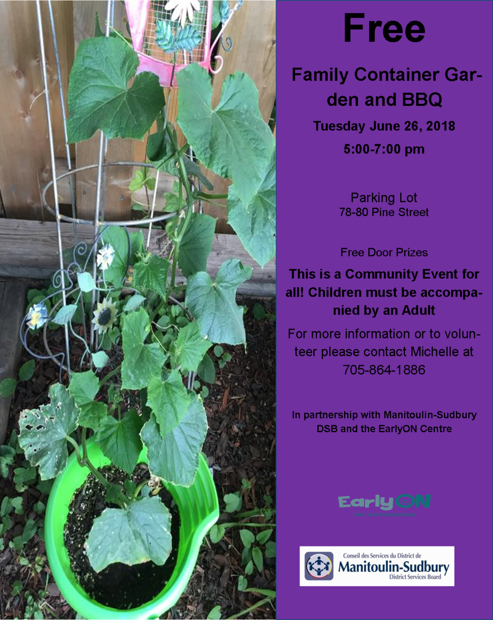 chapleau child care free family container garden and bbq june 26.png