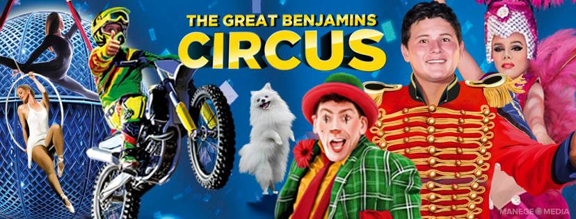 > ATTENTION WAWA, ON <<  The Great Benjamins Circus is coming to you this October for 1 BIG DAY! Don't miss out on your ONLINE EARLY-BIRD DISCOUNT TICKETS!  LOCATION: 3 CHRIS SIMON DRIVE - WAWA, ON P0S 1K0  SHOWTIMES: Oct 10: 4:30pm and 7:00pm  Our value-packed FAMILY PASS (2 adults + 2 children) is available ONLINE ONLY for just $49.99! > Adult tickets for ONLY $25! > Kids tickets from just $15 online  Get the VIP experience and purchase our 'Ringside Box' which includes 4 of the best seats in the house, up close to the action and thrills! ONLY $120!  Have questions?? Visit our FAQ's here - benjaminscircususa.com/faq/   Bring your friends and family and join us under our bright blue and yellow big top for 90-minutes of CIRCUS FUN, THRILLS, AND LAUGHTER!