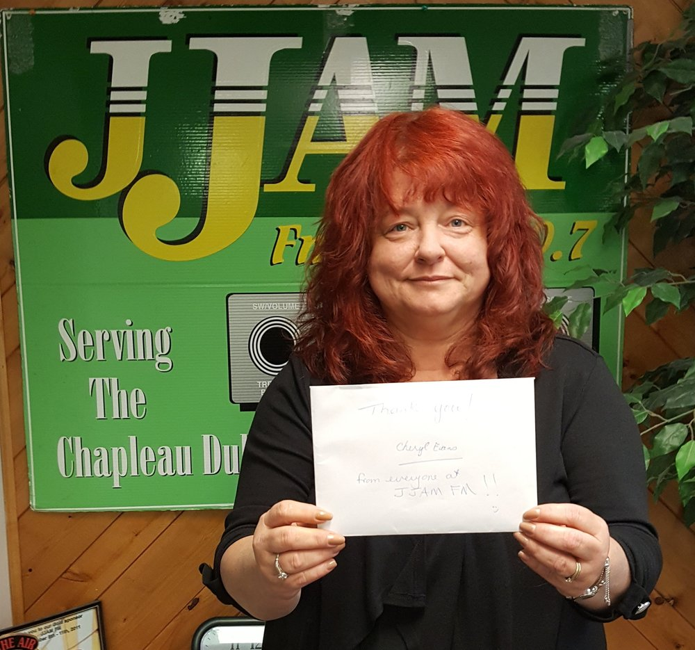 Nov 7th=Membership 500 Draw for JJAM FM Wawa/Chapleau Facebook page